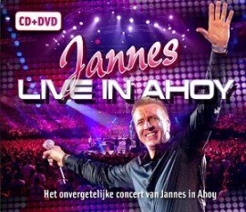 Jannes Live in Ahoy CD DVD