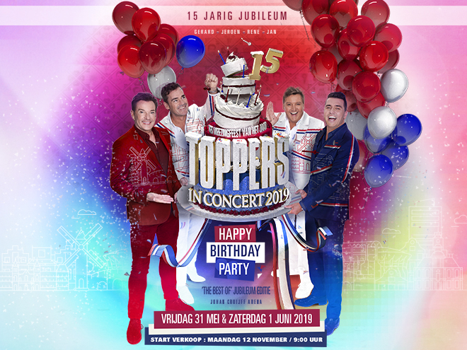 6bfa612870a Toppers in Concert | Johan Cruijff ArenA | Ticketpoint