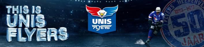 UNIS Flyers seizoen 2017-2018 kaart seizoenkaart