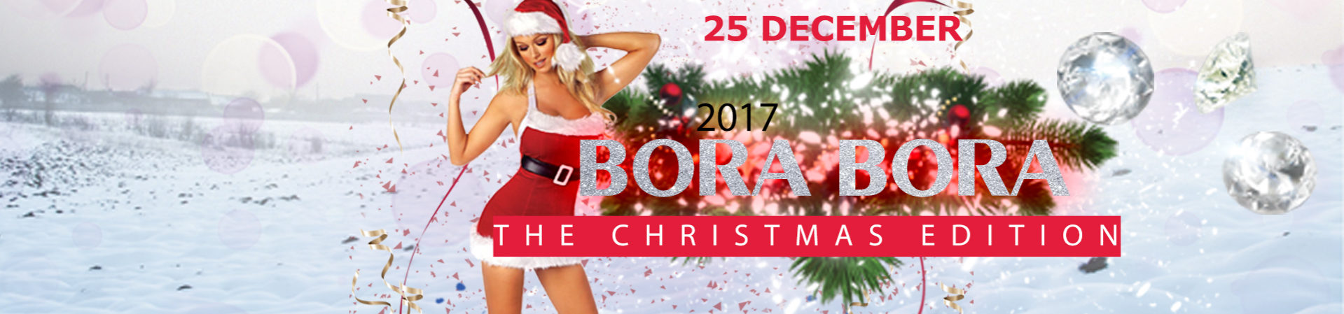 Bora Bora Christmas Edition