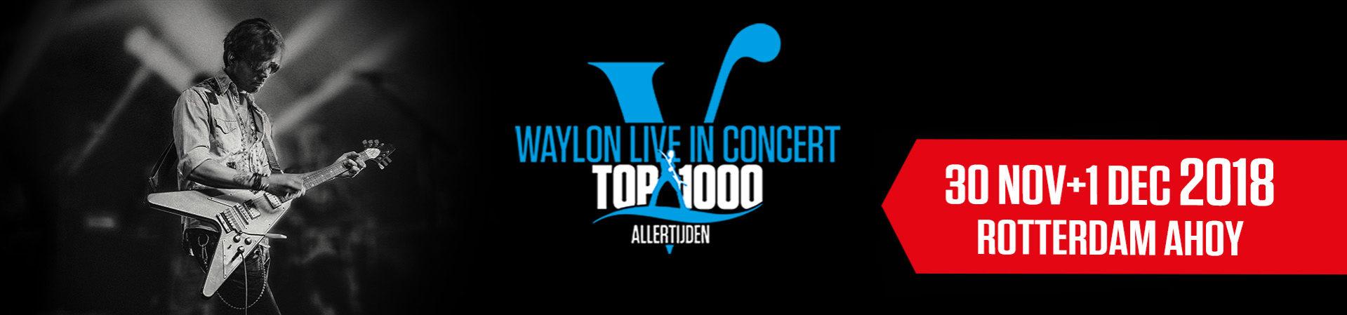 Waylon Live In Concert 2018