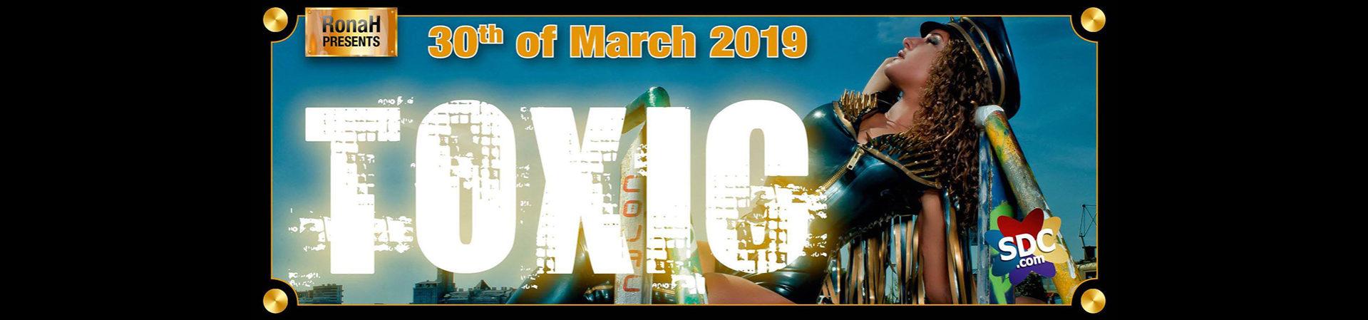 Toxic Fetishparty 30 maart 2019