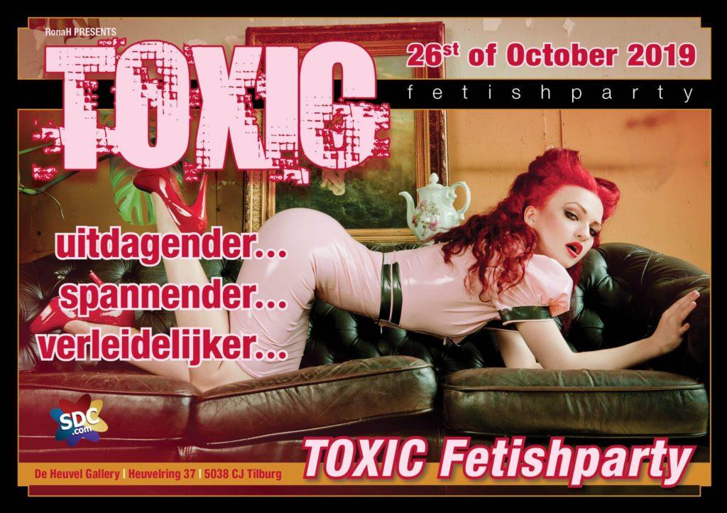 Toxic Fetishparty 26 oktober 2019