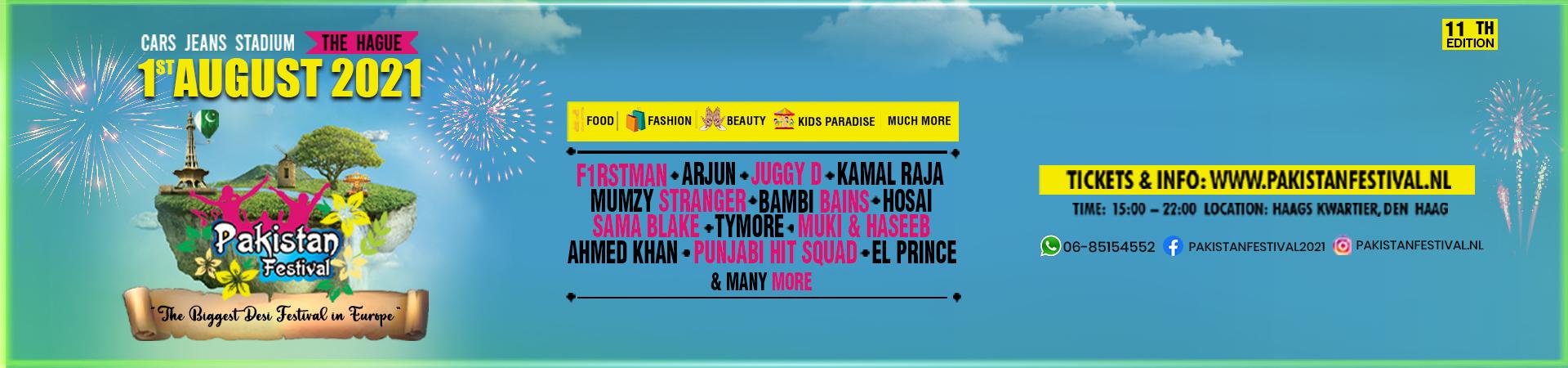 Pakistan Festival 2021 tickets