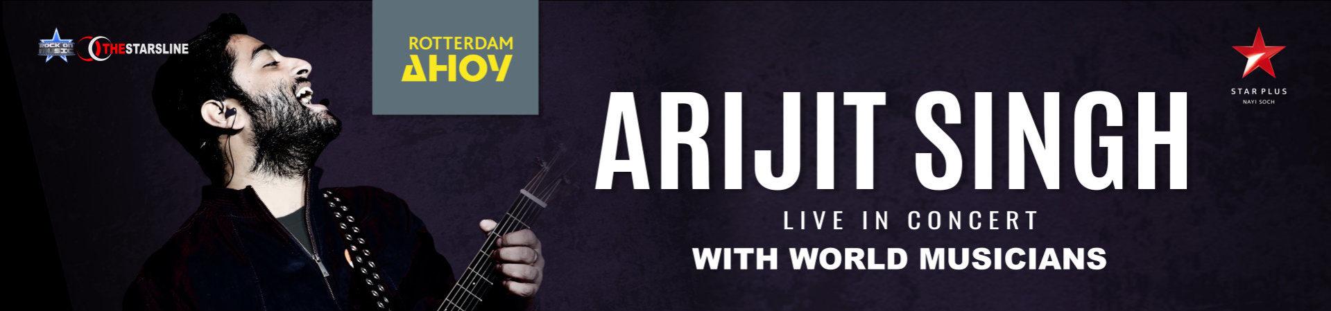 Ticketpoint | Arijit Singh Live in Concert 2018 | Rotterdam