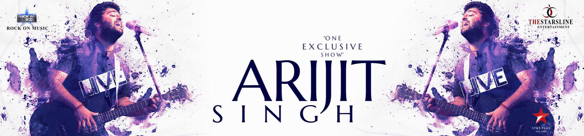 Arijit Singh 1920 x 450 Ticketpoint