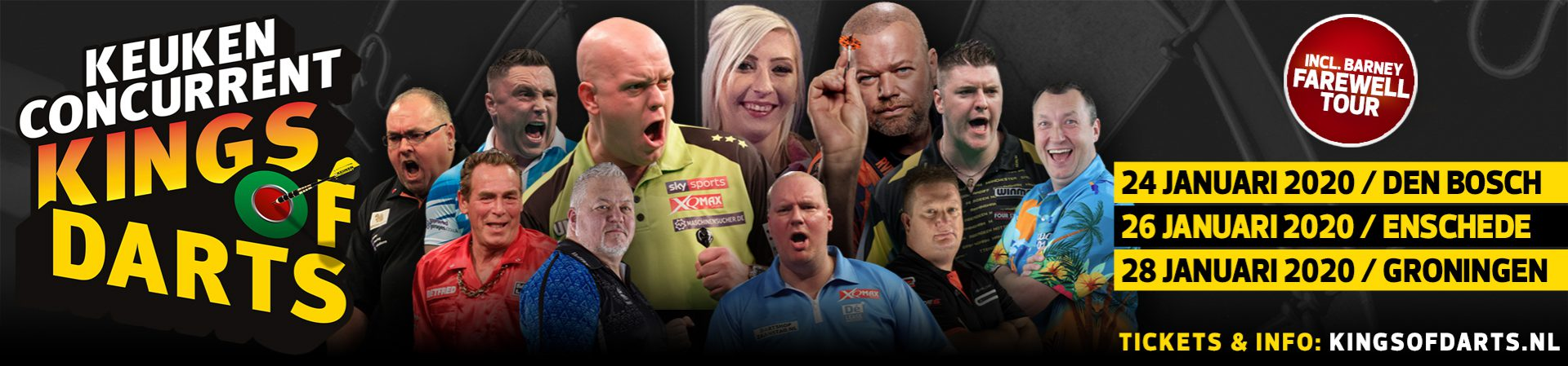 Online tickets Kings of Darts 2020