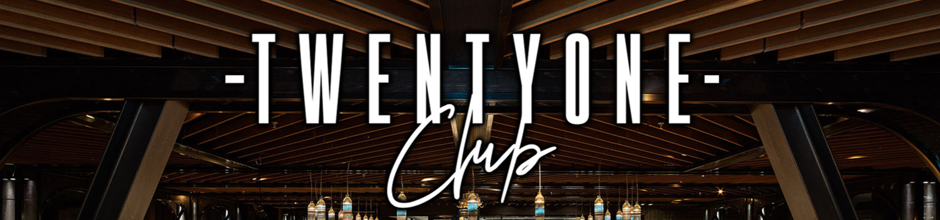 TwentyOne Club 1920x450