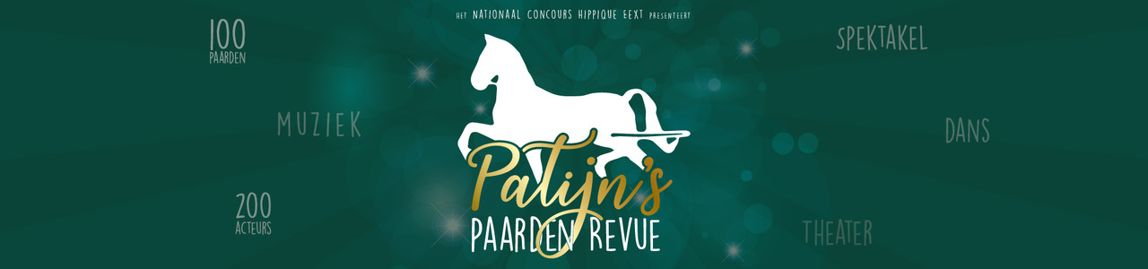 Patijn's Paarden Revue 1920x450