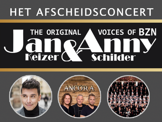 Afscheidsconcert Jan en Anny 2019