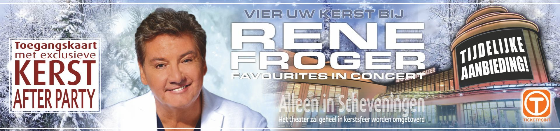 Ticketing Rene Froger
