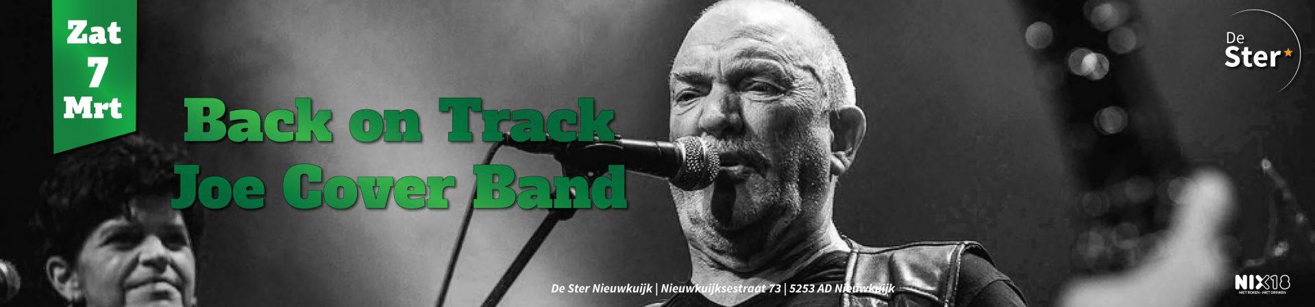 E-tickets Joe Cover Band De Ster Nieuwkuijk
