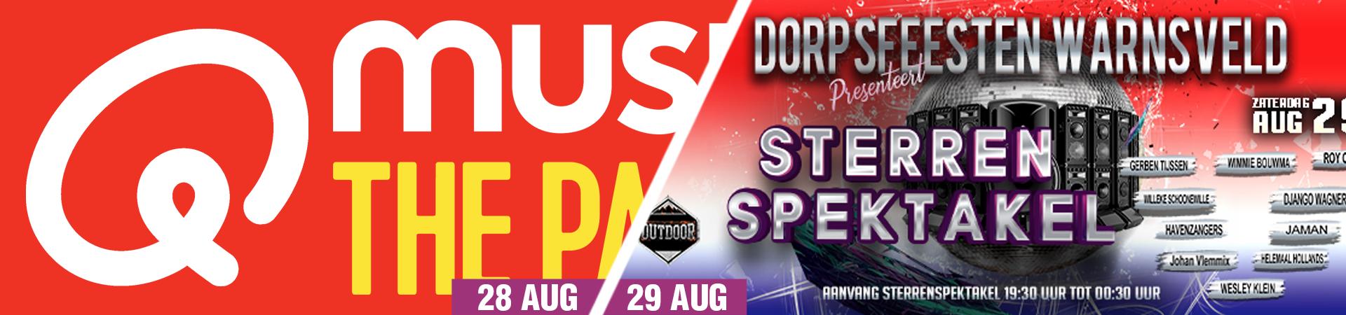Dorpsfeesten Warnsveld online tickets Ticketpoint