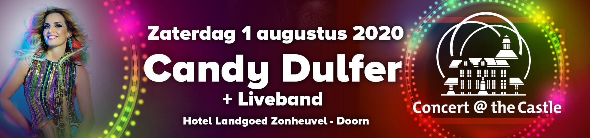 Concert @ The Castle - Candy Dulfer - 1 augustus 2020