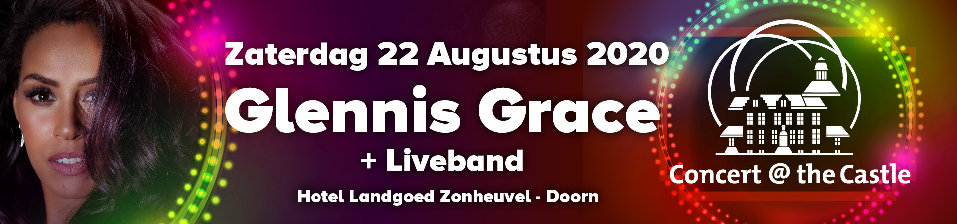 Concert @ The castle Glennis Grace 22 aug