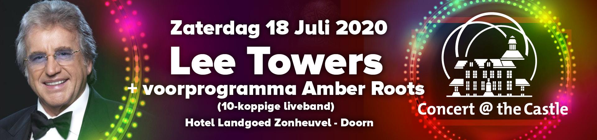 Concert @ The Castle - Lee Towers - 18 Juli
