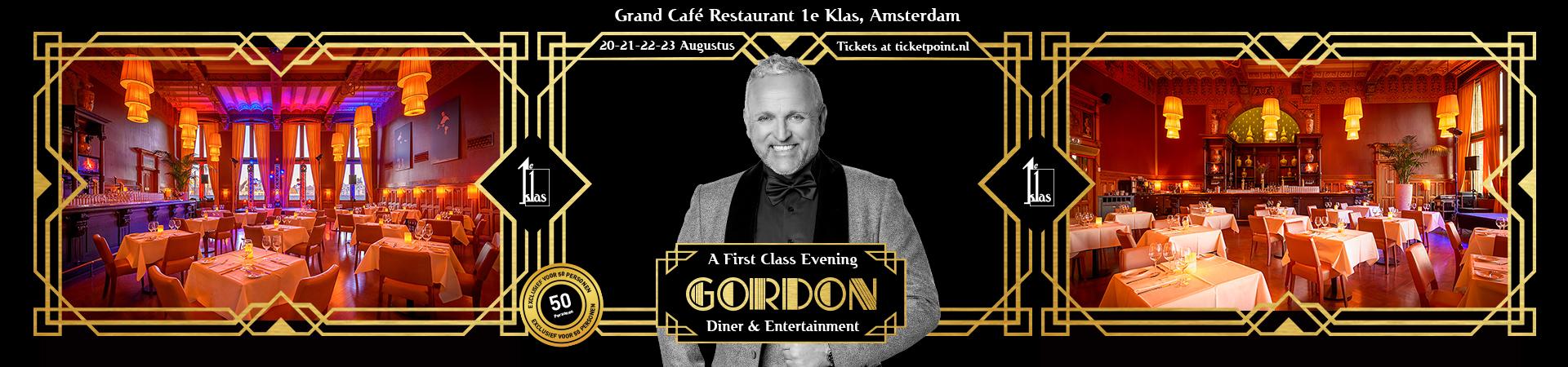 First Class Evening - Gordon - Augustus 2020