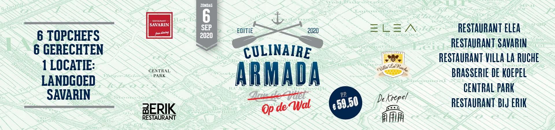 Culinaire Armada op de Wal