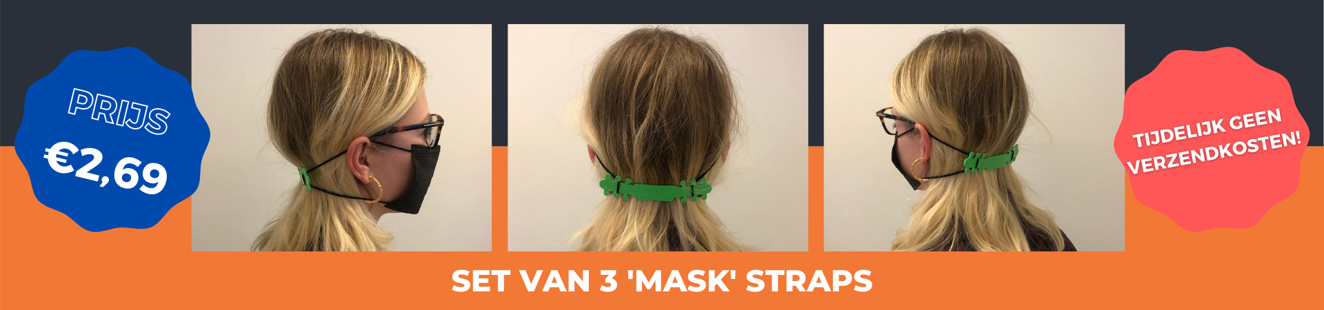 Banner HOMEPAGE 'MASK' STRAPS