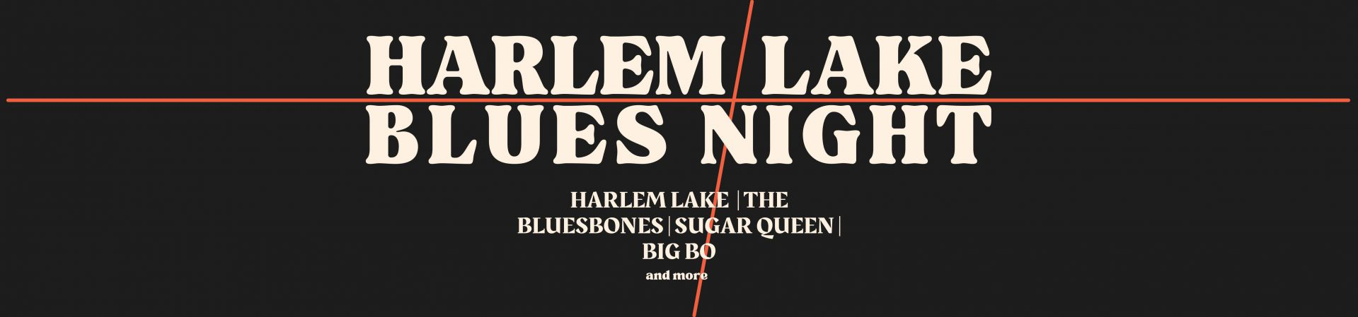 Harlem Lake Blues Night ticketverkoop