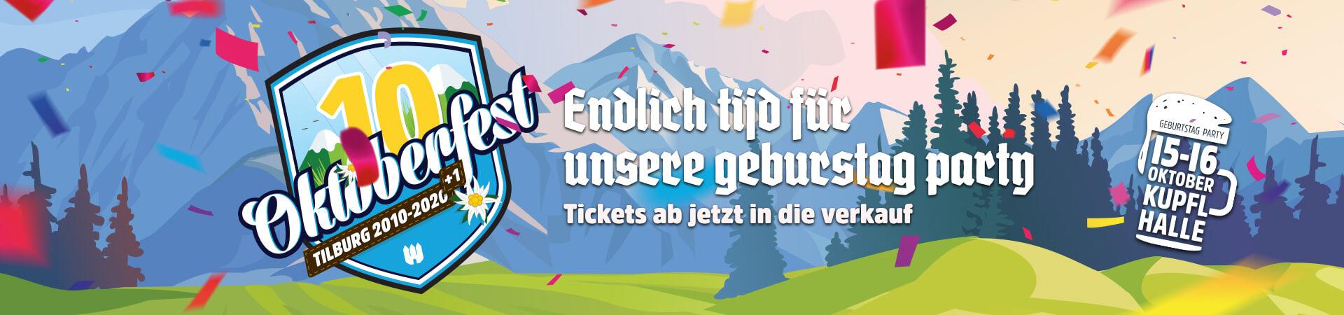 Oktoberfest Tilburg online tickets